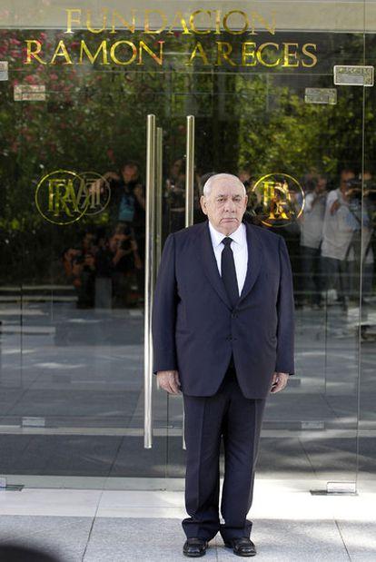 Isidoro Álvarez, antes de celebrar la junta de El Corte Inglés.