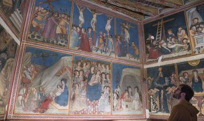 Capilla de Sant Miquel del monasterio de Pebralbes, en Barcelona.