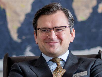 Dmytro Kuleba, ministro de Exteriores de Ucrania, en una foto cedida por su propio gabinete.