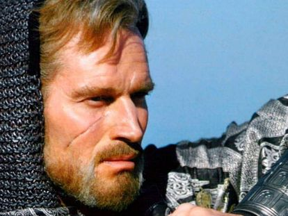 Charlton Heston en 'El Cid'.