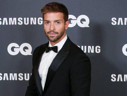 Pablo Alborán, en una entrega de premios el 21 de noviembre en Madrid.