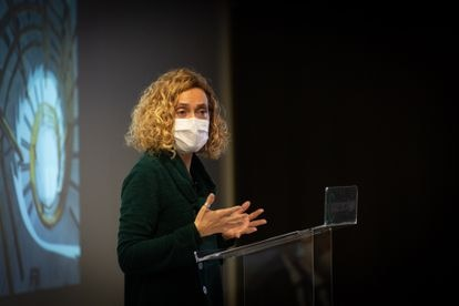 La presidenta del Congreso de los Diputados y exministra, Meritxell Batet, en un acto el pasado 19 de enero.