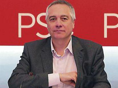 Pere Navarro, líder del PSC.