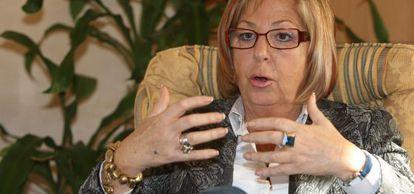 La presidenta de los rectores españoles, Adelaida de la Calle.