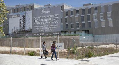 Promoción en Valdebebas (Madrid).