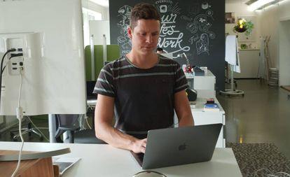 Raphael Lüscher, ejecutivo de cuentas, Evernote