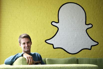 Evan Spiegel, fundador de Snapchat.