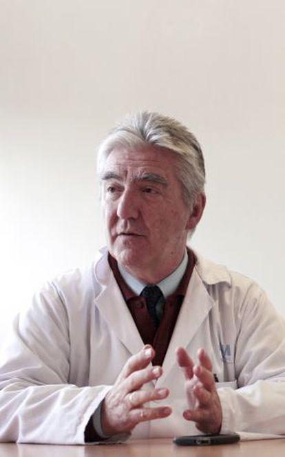 Juan Carlos Martínez, el médico que denunció estas prácticas.