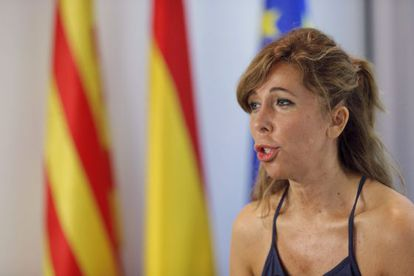 Alicia Sanchez Camacho, en un acto de nuevas generaciones del PPC.