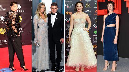 Juana Acosta, Nicole Kimpel y Antonio Banderas, Tamara Falcó y Greta Fernández.