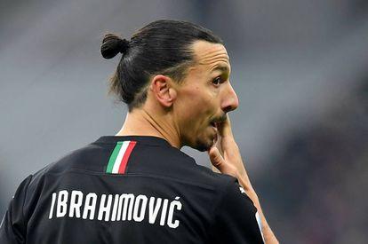 Ibrahimovic, durante su estreno contra la Sampdoria.