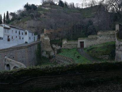 Muro del Barranco de Fuentepeña.