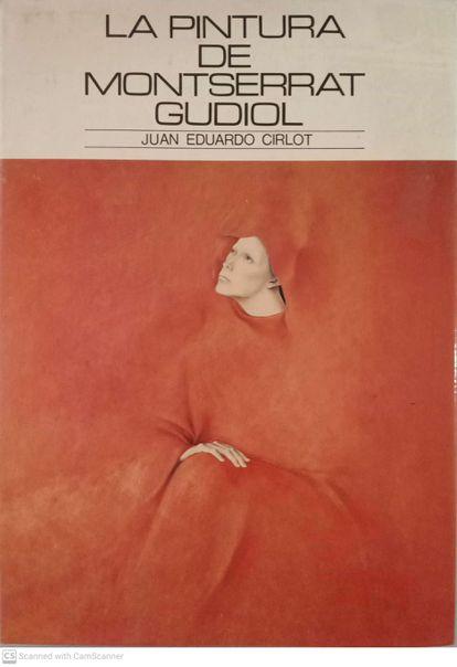 Portada del libro dedicado a Montserrat Gudiol por Cirlot.