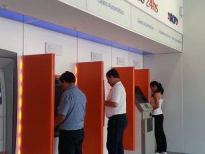 Una oficina del Banco de Crédito del Perú, del grupo Credicorp.