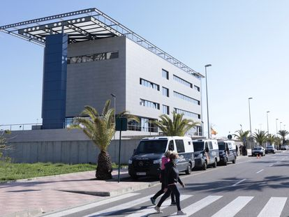 Comisaría de la Policía Nacional de Castellón.