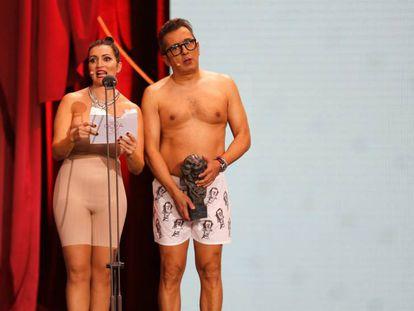 Silvia Abril y Andreu Buenafuente presentan los Goya 2019. En vídeo, resumen de la gala.