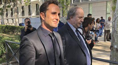 Herve Falciani, este 11 de septiembre, a su llegada a la Audiencia Nacional.