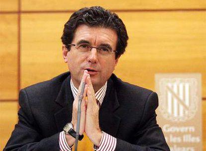 Jaume Matas, ex presidente de Baleares, en 1996.