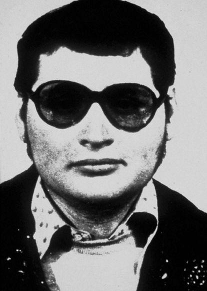 """Illich Ramírez Sánchez, conocido también como """" Carlos The Jackal"""" (El Chacal), en una foto sin fecha en la época en que era buscado en todo el mundo."""