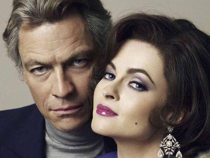 Los actores Dominic West y Helena Bonham Carter representarán a Richard Burton y Elizabeth Taylor.