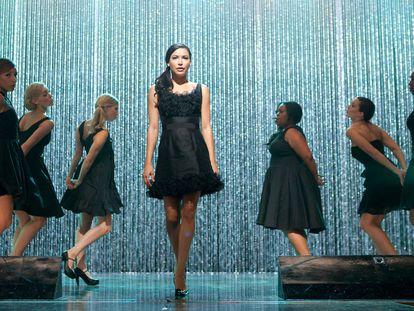 Naya Rivera, en un capítulo de 'Glee' emitido en 2011.