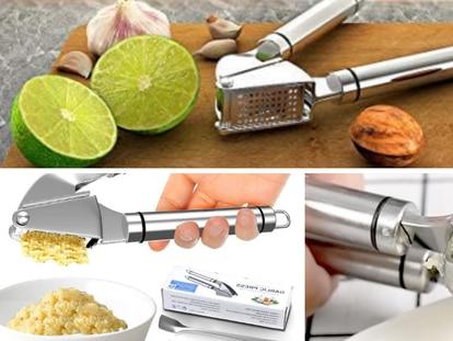 Este triturador de ajos es el más vendido de Amazon México.
