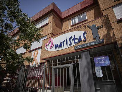 Fachada del colegio Maristas de Granada.