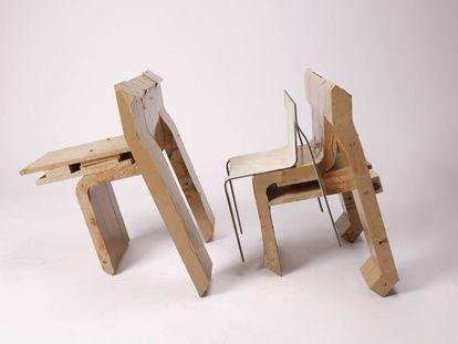 El diseño '0.6 Chair', de Joachim Froment, resultó premiado en una edición del Rado Star Prize celebrada este año en Reino Unido.