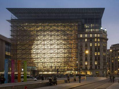 Edificio del Consejo Europeo en Bruselas.