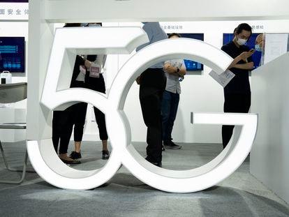 Logo de 5G.