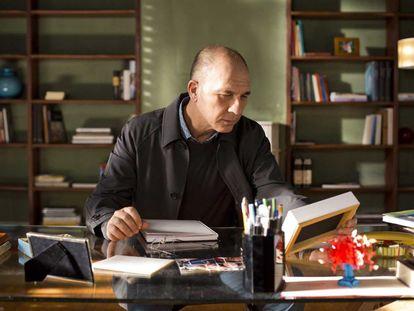 El actor Dario Grandinetti en la película 'Julieta' de Almodóvar
