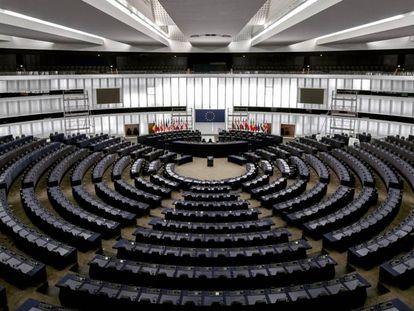 Imagen del Parlamento Europeo de Estrasburgo.