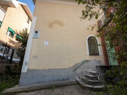 Fachada de la casa de Vicente Aleixandre.