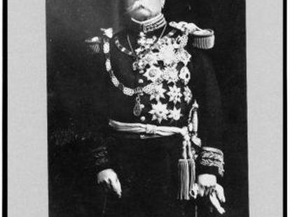 El general Porfirio Díaz.