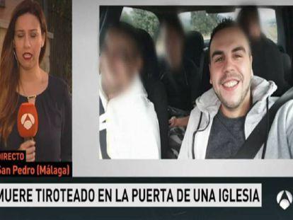 Emilio José Quesada, en las imagen difundida por Antena 3.