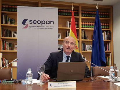 El presidente de Seopán, Julián Núñez.