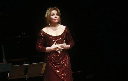 La soprano Renee Fleming.