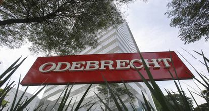 La sede de la constructora Odebrecht en Sao Paulo (Brasil).