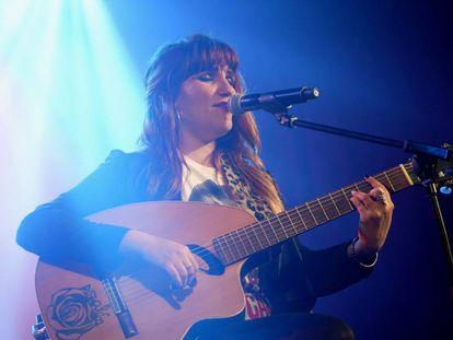 Rozalén, en un concierto en Madrid el 4 de noviembre.