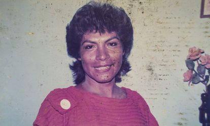Fransua, asesinada de un disparo en la cabeza en 1989.