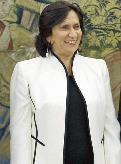 Haya Rahed Al Khalifa, en Madrid.