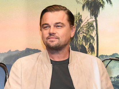 Leonardo DiCaprio durante la presentación de la película 'Érase una vez... en Hollywood' en agosto de 2019.