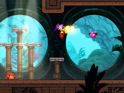 'Shantae and the Seven Sirens' de WayForward para Apple Arcade.