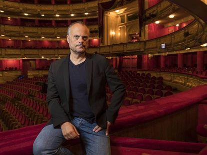 Francisco Negrín, el martes en el Teatro Real de Madrid.