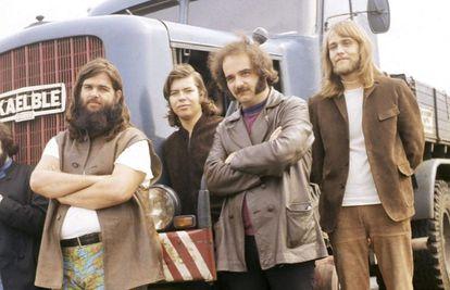 Al Wilson, segundo por la izquierda, con Canned Heat.