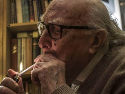 El  padre  del comisario Montalbano, el escritor más leído de Italia, fallece en Roma a los 93 años