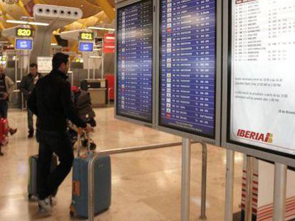 El aeropuerto de Madrid-Barajas, de la red de Aena