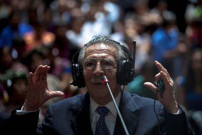 Ríos Montt se declara inocente.