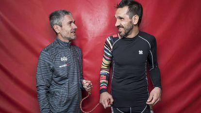 Martín Fiz, de campeón del mundo a corredor guía de atletas paralímpicos