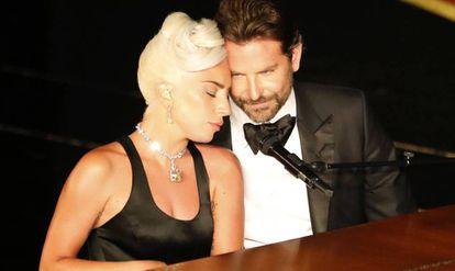 Lady Gaga y Bradley Cooper, en los Oscar de 2019.